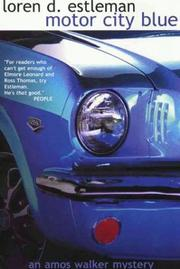 Cover of: Motor City Blue