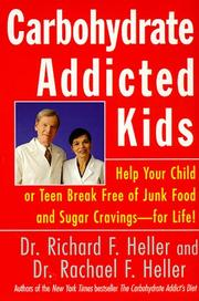 Cover of: Carbohydrate-Addicted Kids | Rachael F. Heller