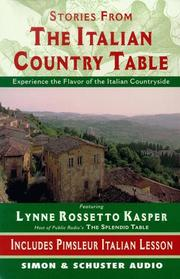 Cover of: The Stories from The Italian Country Table |