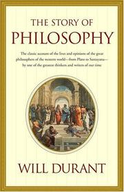 Cover of: Story of Philosophy
