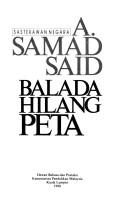 Cover of: Balada hilang peta
