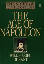Cover of: The Age of Napoleon | Will Durant, Ariel Durant