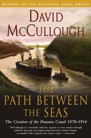 Cover of: The path between the seas | David McCullough