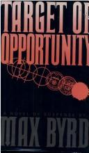 Cover of: Target of opportunity
