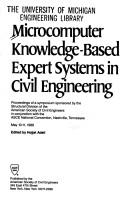 Cover of: Microcomputer knowledge-based expert systems in civil engineering |