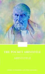 Cover of: Pocket Aristotle (Enriched Classics) |