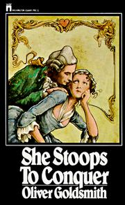 Cover of: She Stoops to Conquer (Enriched Classic )