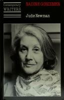 Cover of: Nadine Gordimer