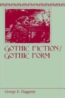 Cover of: Gothic fiction/Gothic form