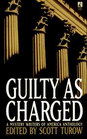 Cover of: Guilty As Charged: A Mystery Writers of America Anthology