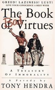 Cover of: The book of bad virtues