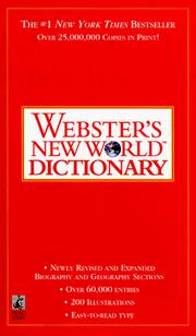 Cover of: Webster