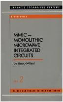 Cover of: MMIC--monolithic microwave integrated circuits