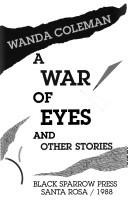 Cover of: A war of eyes and other stories