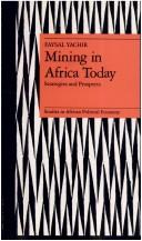 Cover of: Mining in Africa today
