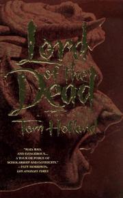 Cover of: Lord of the Dead | Tom Holland