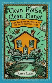 Cover of: Clean house, clean planet