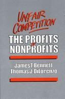 Cover of: Unfair competition