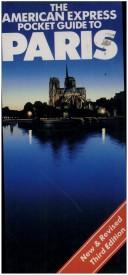 Cover of: The American Express pocket guide to Paris