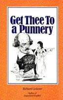Get thee to a punnery by Lederer, Richard