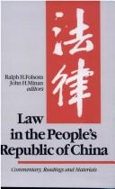 Cover of: Law in the People