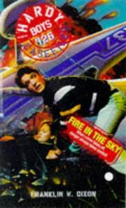 Cover of: Fire in the sky | Franklin W. Dixon