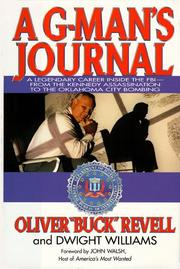 Cover of: A G-man's journal