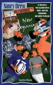 Cover of: NEW BEGINNINGS: NANCY DREW ON CAMPUS #17