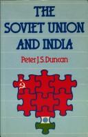Cover of: The Soviet Union and India