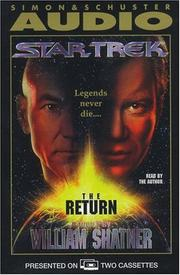 Cover of: The STAR TREK THE RETURN