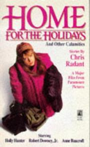 Cover of: Home for the holidays | Chris Radant