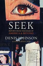 Cover of: Seek: Reports from the Edges of America and Beyond
