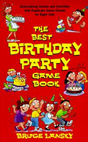 Cover of: Best Birthday Party Game Book, The