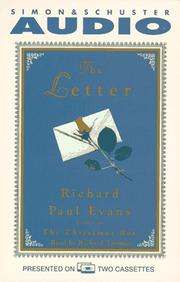 Cover of: The LETTER, THE