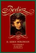 Cover of: Berlioz