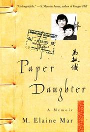 Paper daughter by M. Elaine Mar