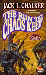 Cover of: The Run To Chaos Keep (The Quintara Marathon , No 2)