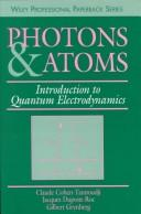 Cover of: Photons and atoms