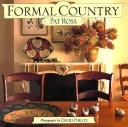 Cover of: Formal country