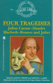 Cover of: Four Great Tragedies | William Shakespeare
