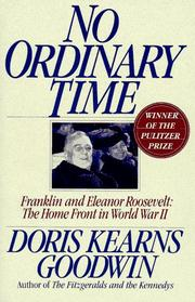 Cover of: No ordinary time