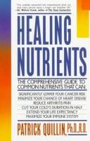 Cover of: Healing nutrients