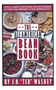 Cover of: The all-American bean book