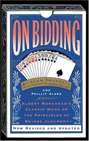 Cover of: On bidding | Alan F. Truscott