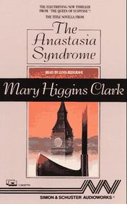 Cover of: The Anastasia Syndrome | Mary Higgins Clark
