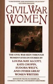 Cover of: Civil War Women | Frank Mcsherry
