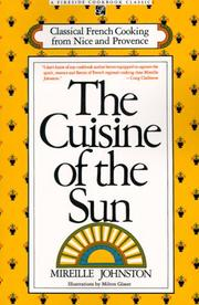 The cuisine of the sun by Mireille Johnston