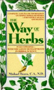 Cover of: The Way of Herbs | Michael Tierra