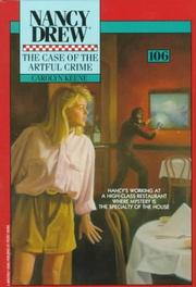 Cover of: CASE OF THE ARTFUL CRIME (NANCY DREW 106)