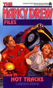 Cover of: HOT TRACKS (NANCY DREW FILES 71)